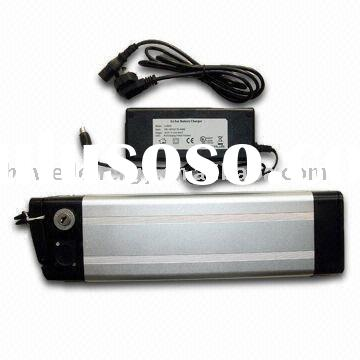36V, 20Ah Rechargeable LiFePO4 Battery with BMS, Aluminum Case, and Charger