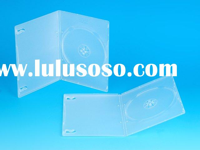 7MM TRANSPARENT SINGLE DVD CASE/DVD BOX/DVD COVER(YD-023-A)