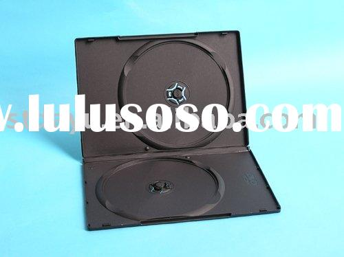 9mm Double Black DVD CASE