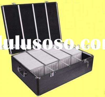 Aluminum 1000 CD-R DVD Storage Case