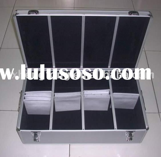 Aluminum Carrying Case for 720 CD/DVD