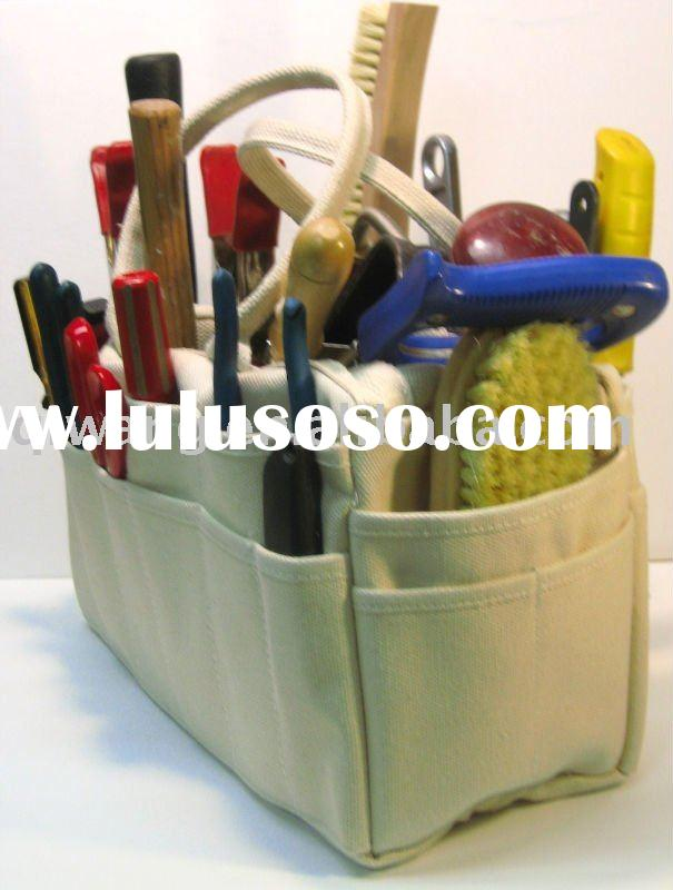 Heavy duty canvas tool bag