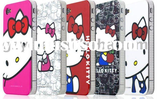 IMD hello kitty mobile phone case for iphoen 4g