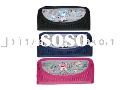 Nylon zipper pencil-case