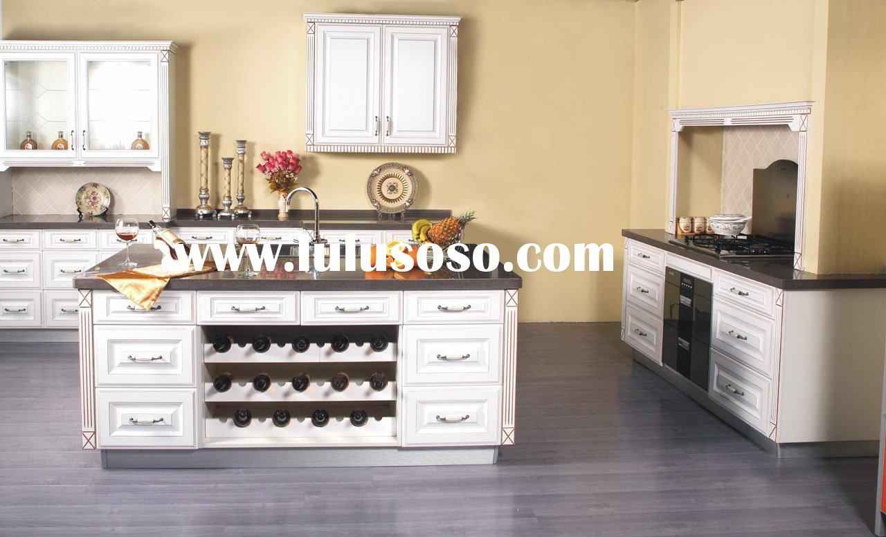 Olive unfinished kitchen cabinets