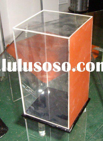 bobble head display case,clear acrylic statue case,acrylic display case