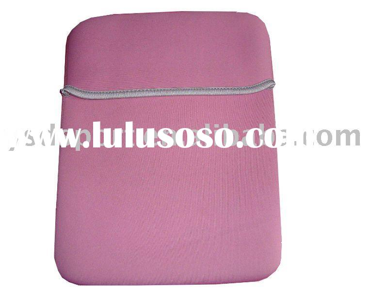 pink neoprene laptop case