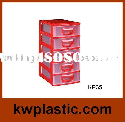 small plastic storage cabinet(5 drawer)