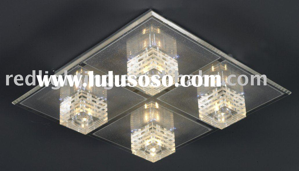 2011 Modern crystal ceiling lamp MX6324B-4