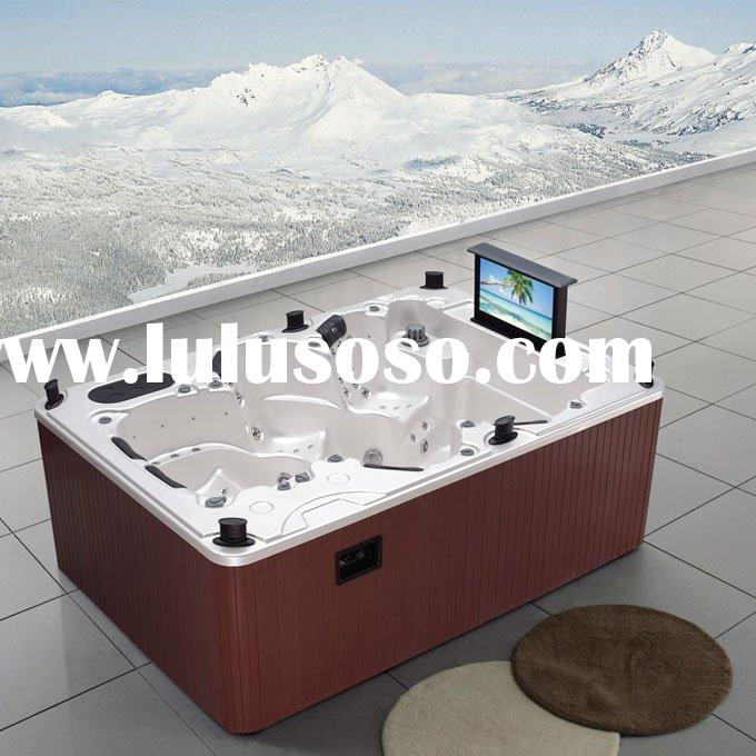 Outdoor Hot Tub SPA Combo Whirlpool and Massage Bathtub B-3333