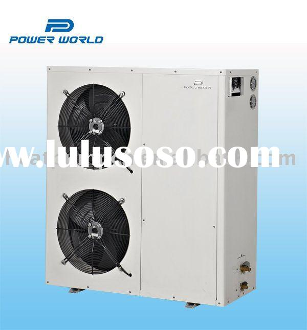 Side discharge saving space of Swimming pool heat pump heater