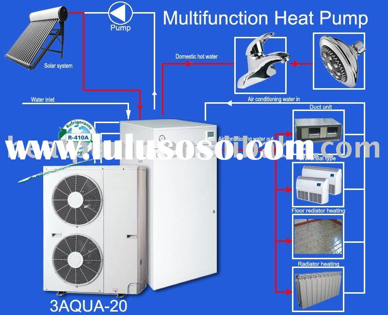 Water heat pump heater