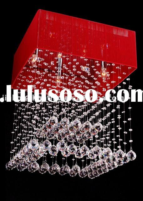 modern crystal ceiling lamp
