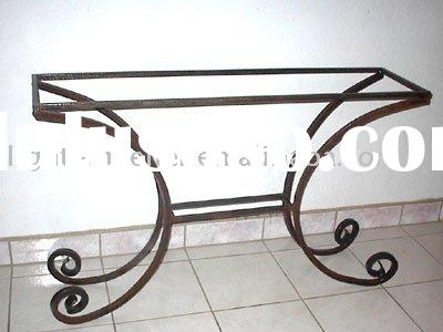 Charming Wrought Iron Table Base LMTS 2002