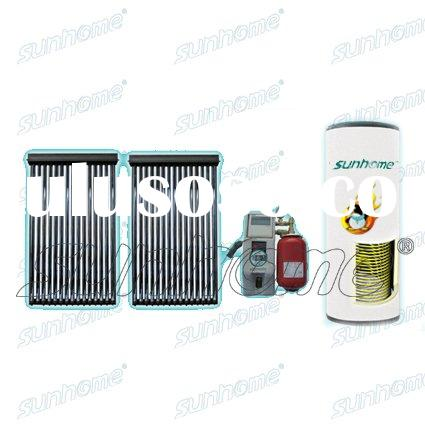 Active closed loop solar water heater systems