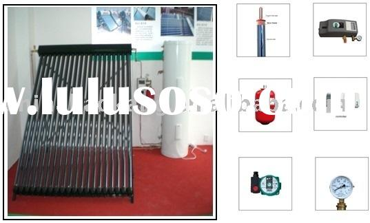 Separated solar water heaters