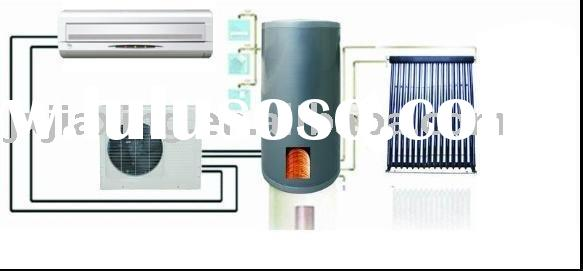Solar air conditioner & water heater