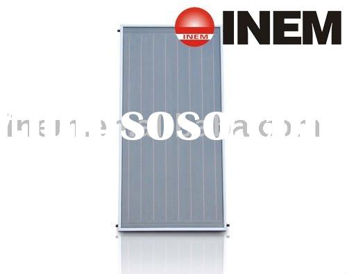 flat-plate collector for solar water heater