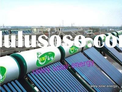 non-pressure  solar water heater best price on sales(hot)