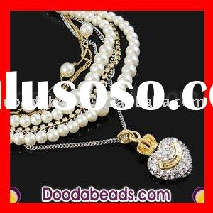 2011 Pearl Necklace Fashion Jewelry