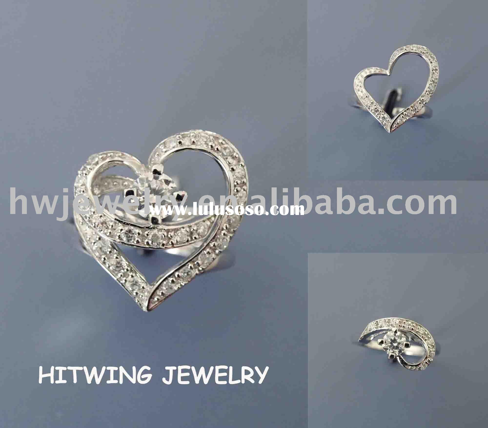 925 Silver engagement Rings
