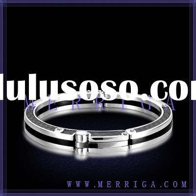 Cheap wholesale 316L stainless steel bangle fashion men jewelry