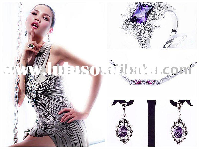 EXquisite 925 Sterling Silver Jewelry Set
