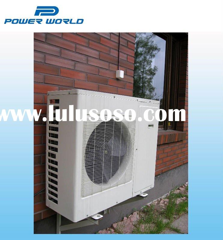 High COP residential split air source heat pump for UK market