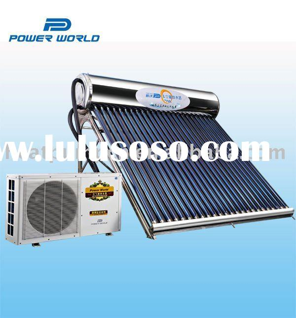 Most energy-saving of solar water heater with heat pump