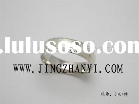 Product nameSilver Wedding Band Shenzhen Jingzhanyi jewelry manufacture