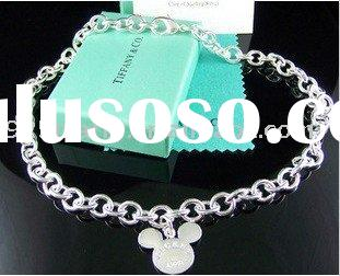 T368 Wholesale 925 Sterling Silver Jewelry,Fashion Necklace