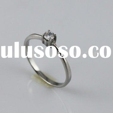 Wedding Bands RingsMade in 316L Stainless Steel Casting Style