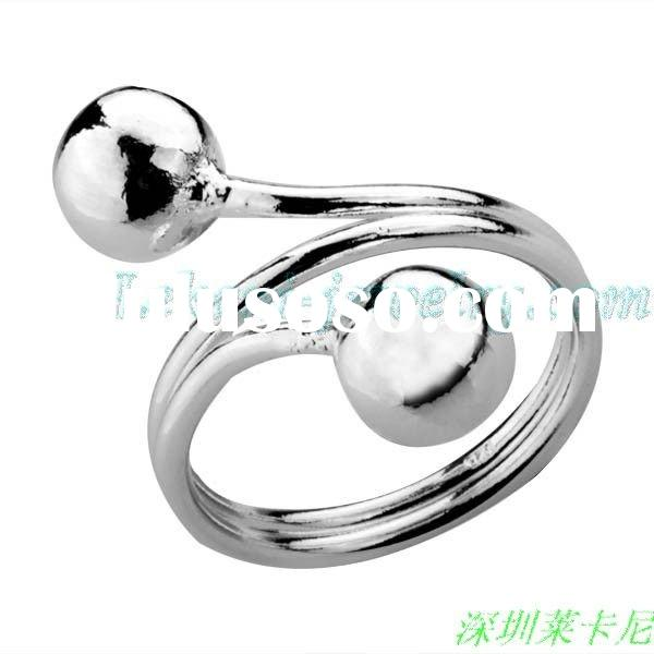 Wholesale generous 925 sterling silver Ring LKN-R037