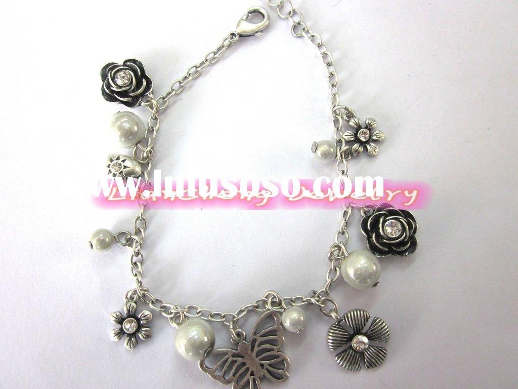 brand new sterling silver 925 charm bracelets for paypal wholesale lady's jewellery