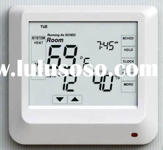 fan coil controller with touch screen