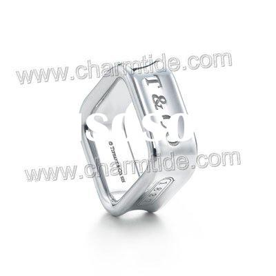 fashion silver finger rings