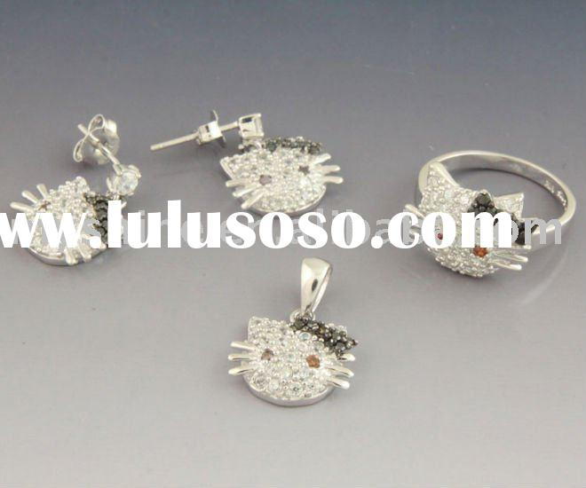 theme jewelry set of  925 sterling silver