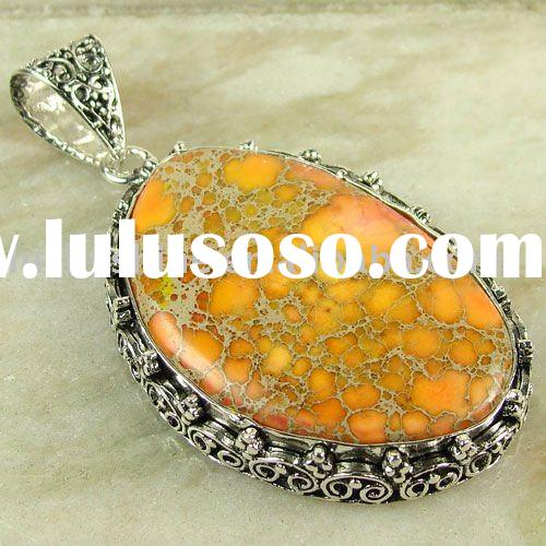 wholesale bulk jewelry imperial taper vintage gemstone pendant