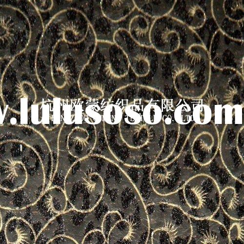 130CM Breen Flocking fabric and bronzing design wall covering