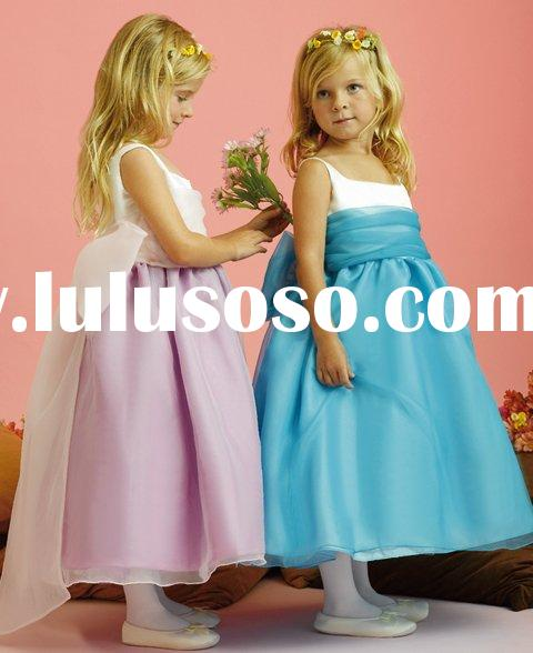 2010 New Style Flower Girl Dress,Kid Dress,Party Girl Dress
