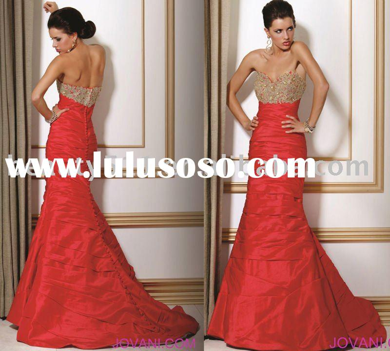 2010 factory top sell new prom party wedding ball gown wholesale evening dress P7009