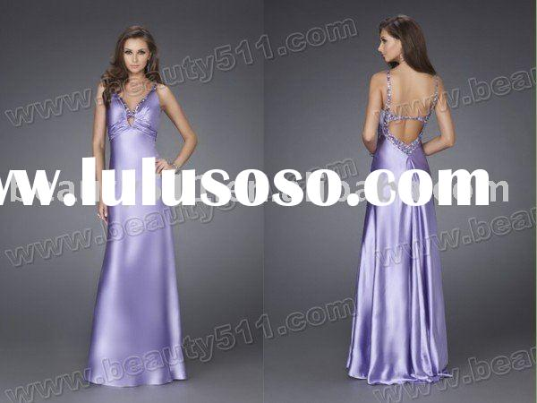 2010 morilee new style  best-sale spaghetti strap long evening dress prom gown EDY-086