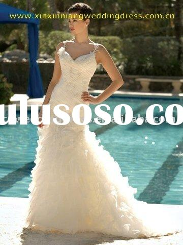 2010fashion designer wedding dress