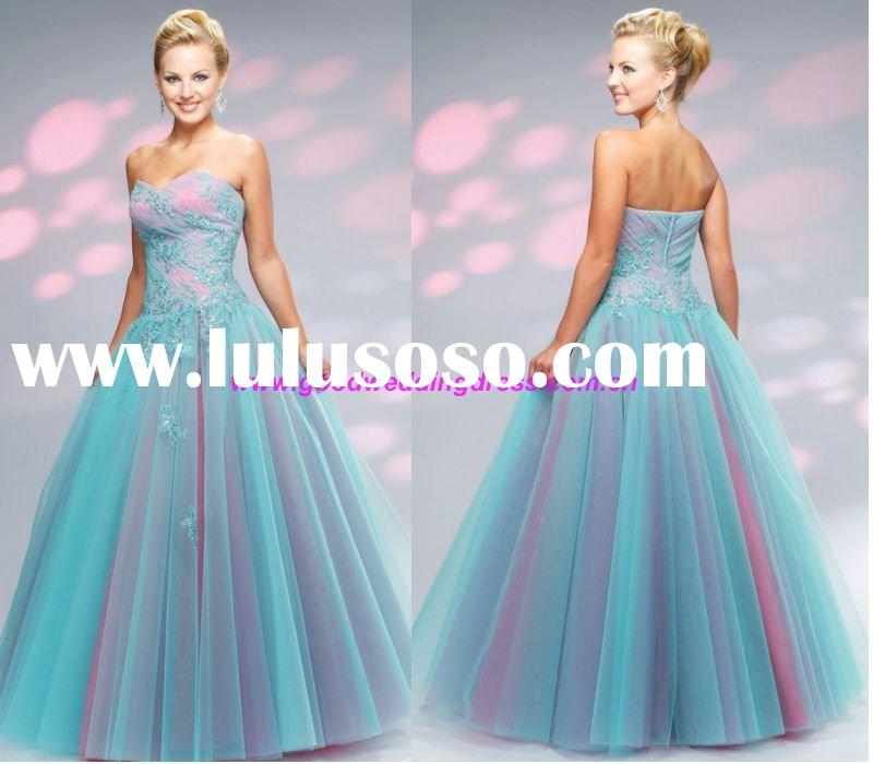 2010year elegant prom gown