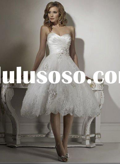 2011New/high quality/modern /cheap/can be plus size   Style Bridal Wedding Dress(veil for free)