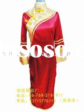 2011 Hotel Reception Long Sleeve formal  Dress 006