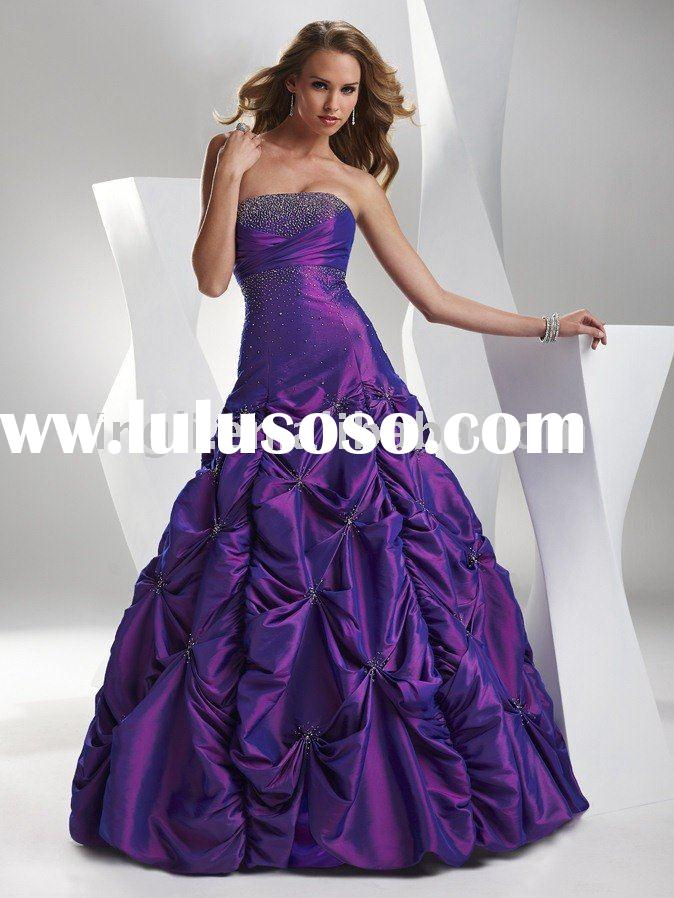 2011 Spring Collection Fashion Prom Dress Ball Gown