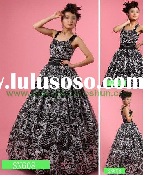 dress patterns 2011. 2011 new gorgeous black