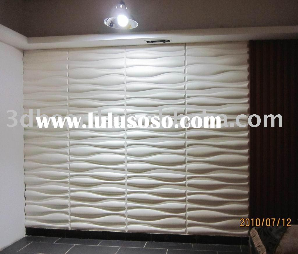 Aesthetic acoustic treatment options hometheater for Architectural wall panels interior