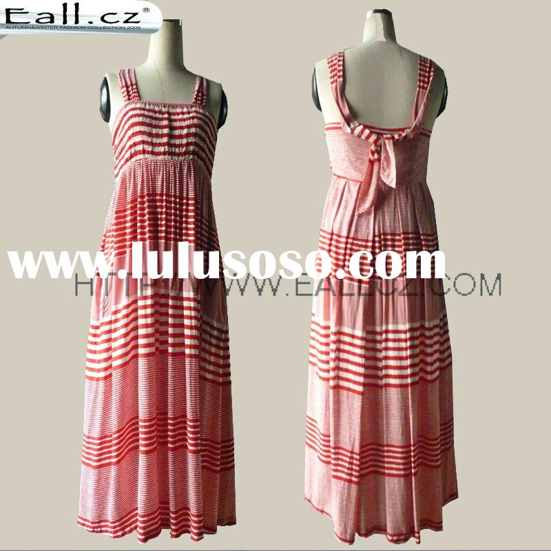 Eall.cz 2011 latest fashion design summer red maxi dress